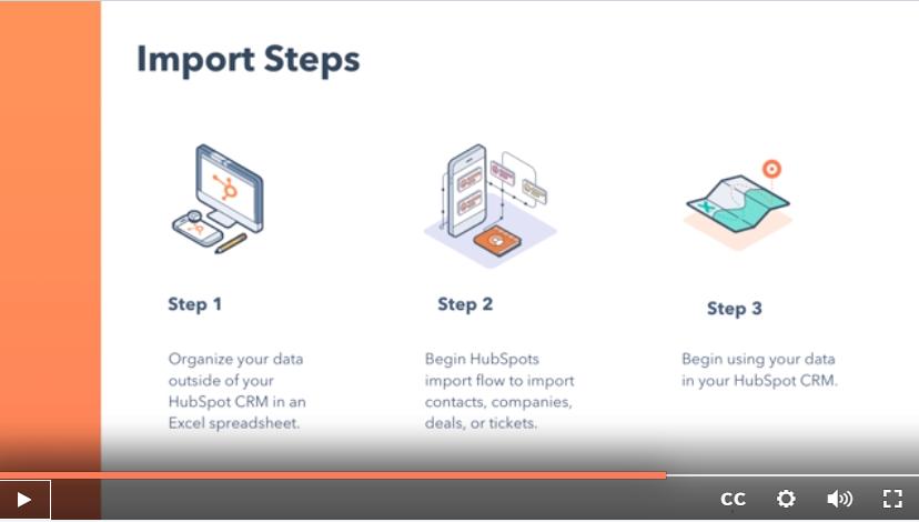 Import Steps