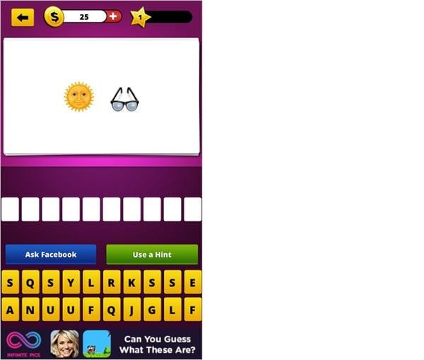 Guess The Emojiのアプリ画面2