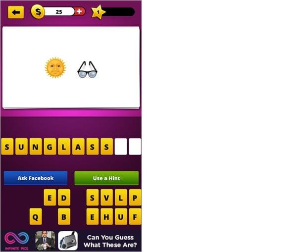 Guess The Emojiのアプリ画面3