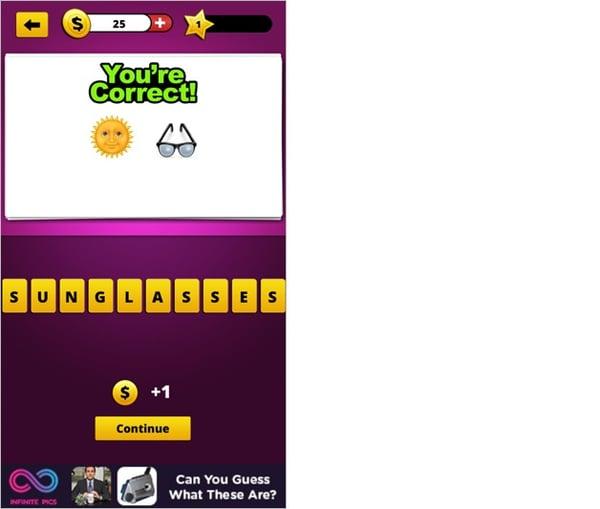 Guess The Emojiのアプリ画面4
